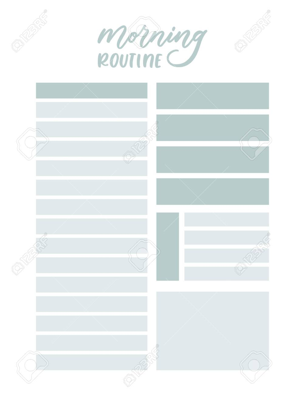 Daily and weekly planner  Simple feminine to do list  Cute loose
