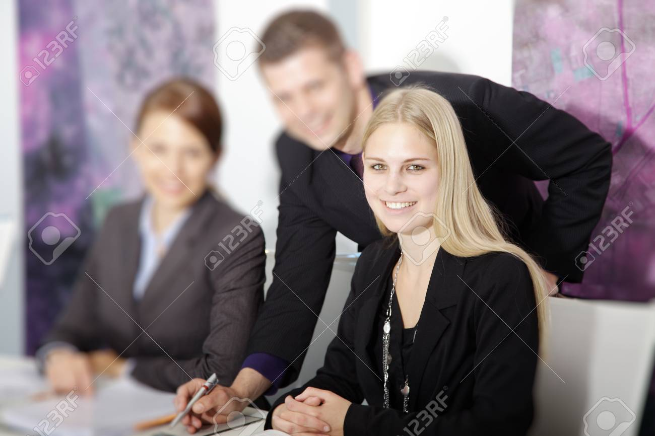 Business People in office contracts include - 32091379