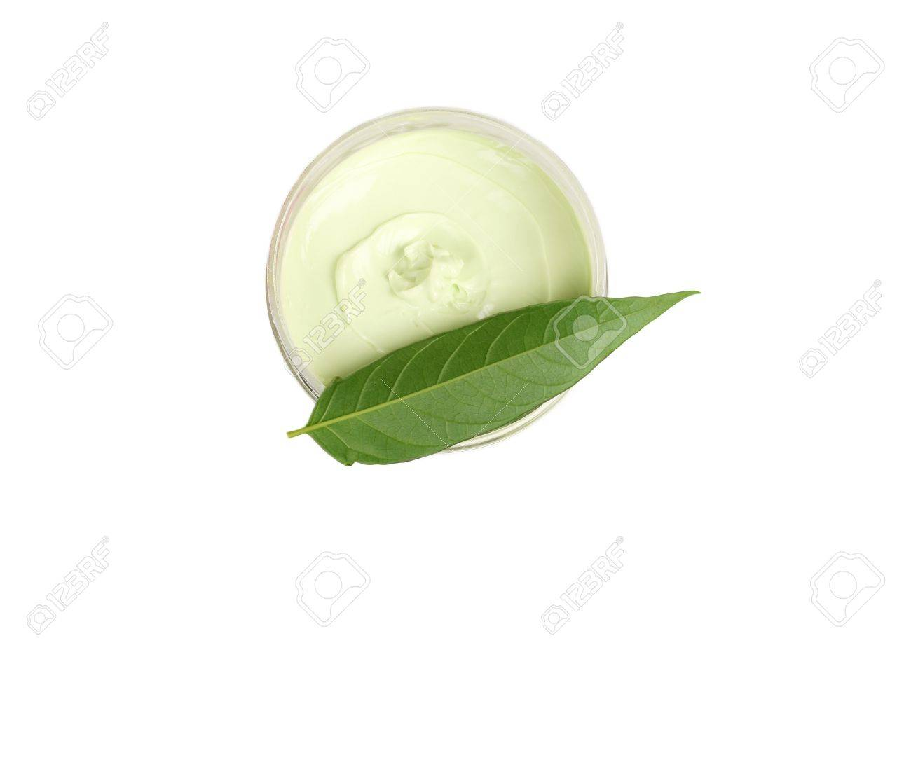 Close up of a beauty treatment isolated on white background - 17829314
