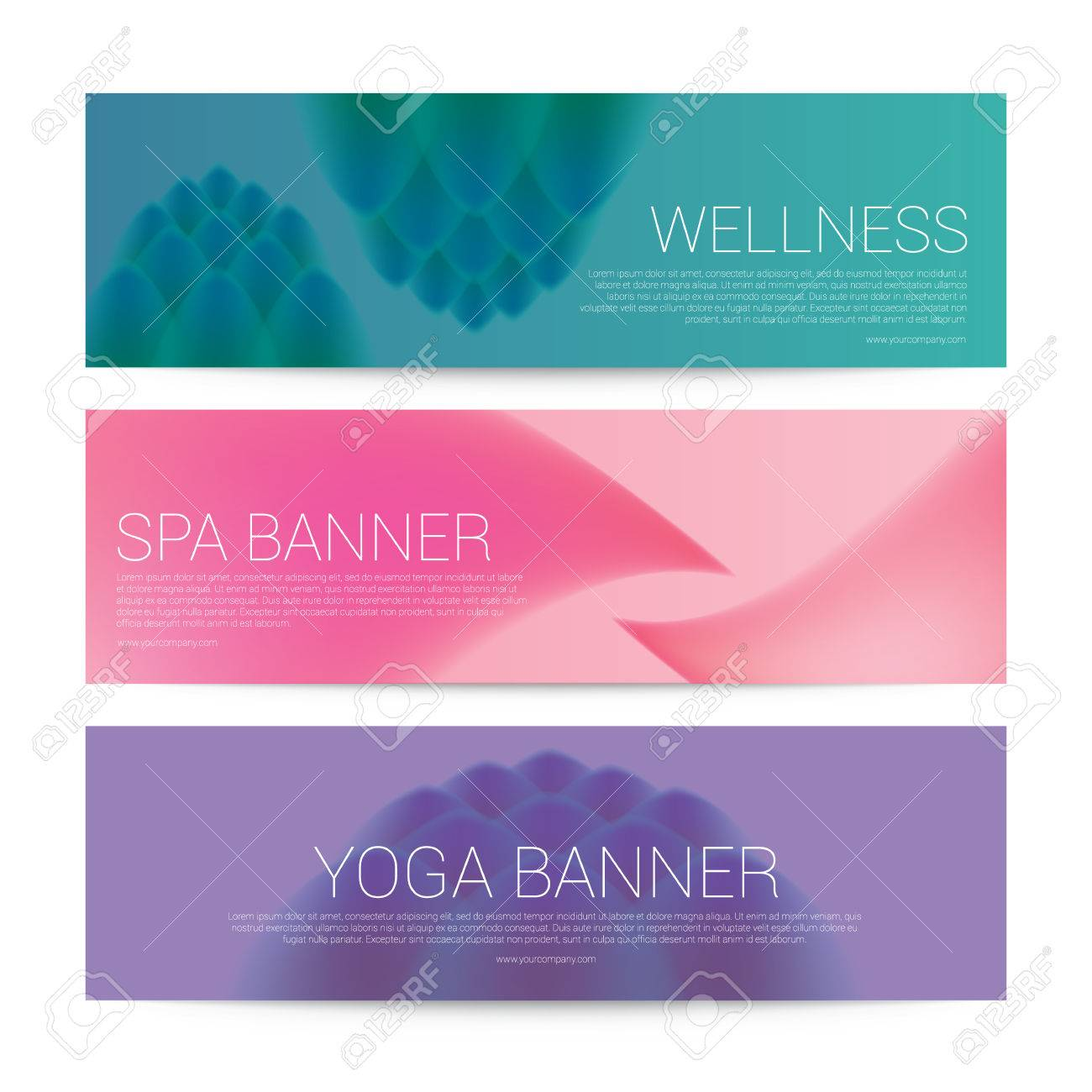 Wellness Spa Yoga Banner Template Menu Cover Illustration Royalty Free Cliparts Vectors And Stock Illustration Image 71133812