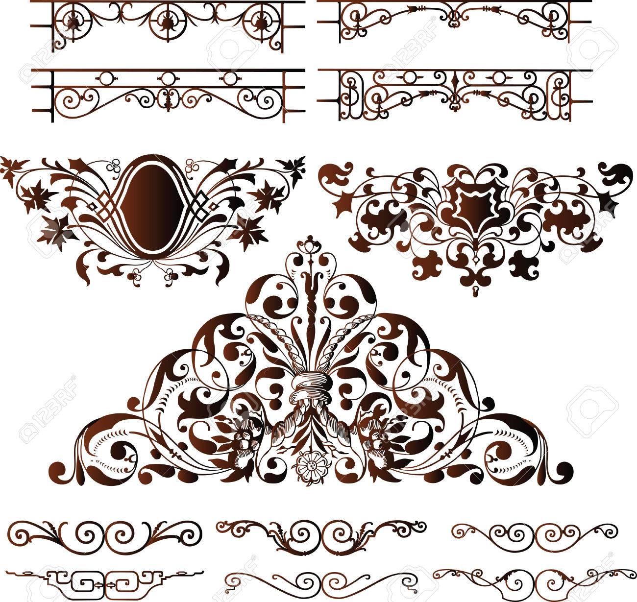 Vector Design Elements Elegant Design Elements
