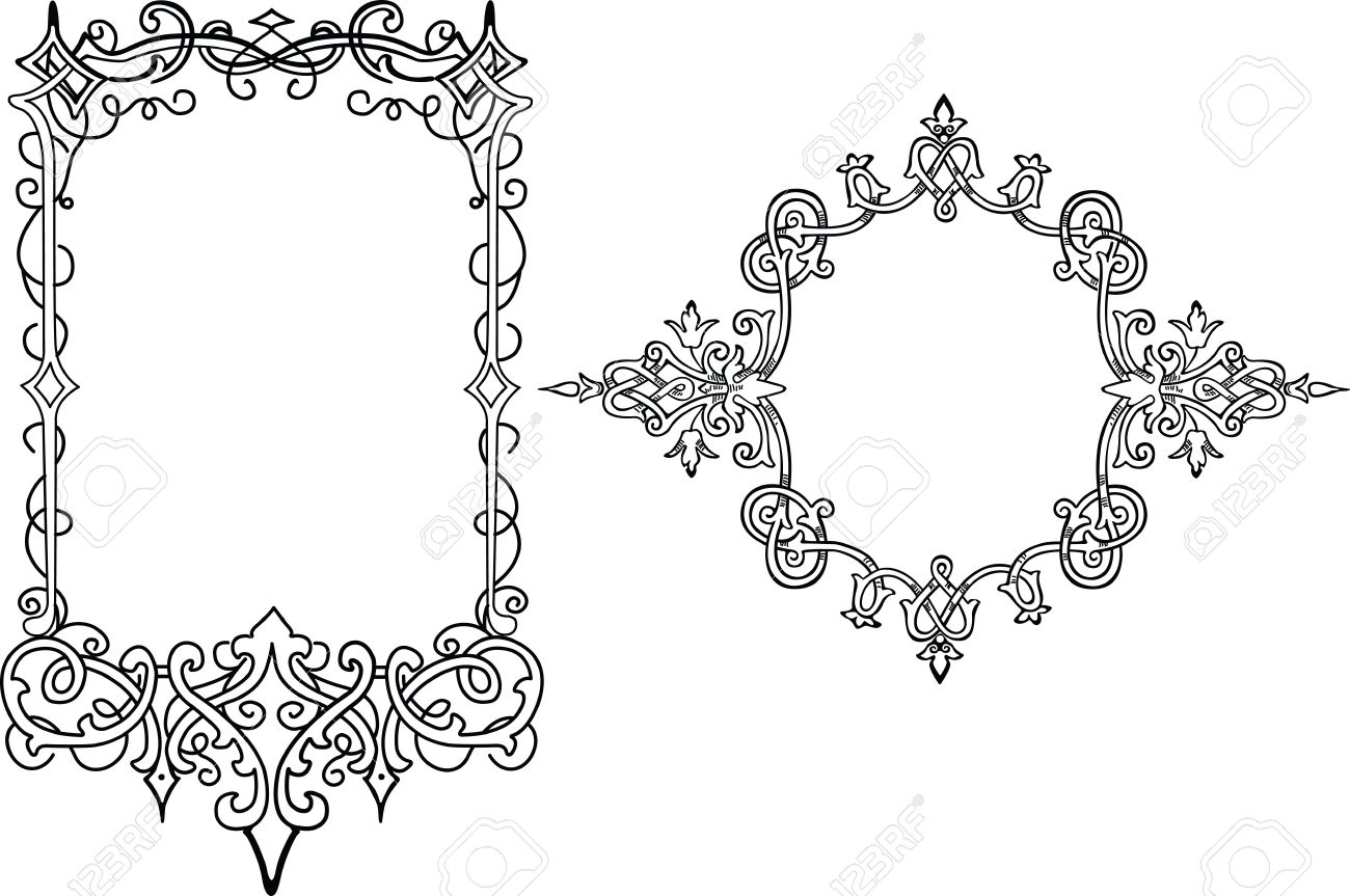 Classic Design Frame Stock Vector - 2426121