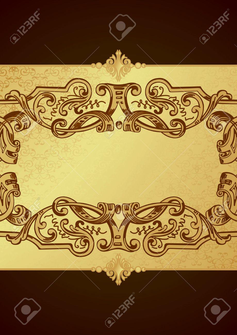 Chocolate Background Stock Vector - 8703947