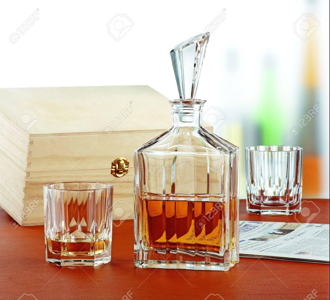 verre whisky luxe