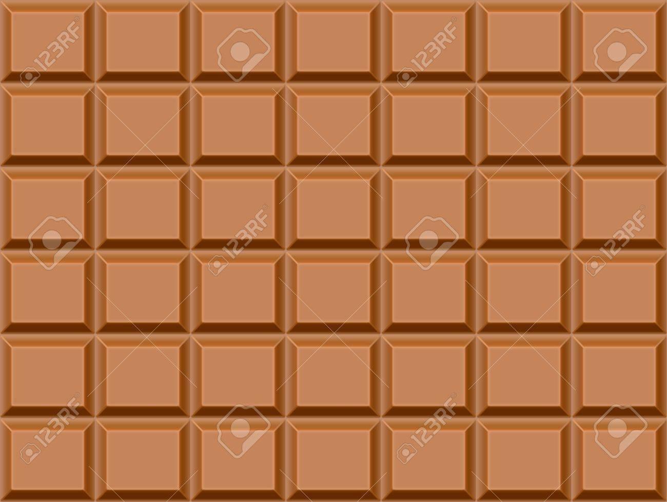 チョコレート バーの背景を持つシームレスなテクスチャです