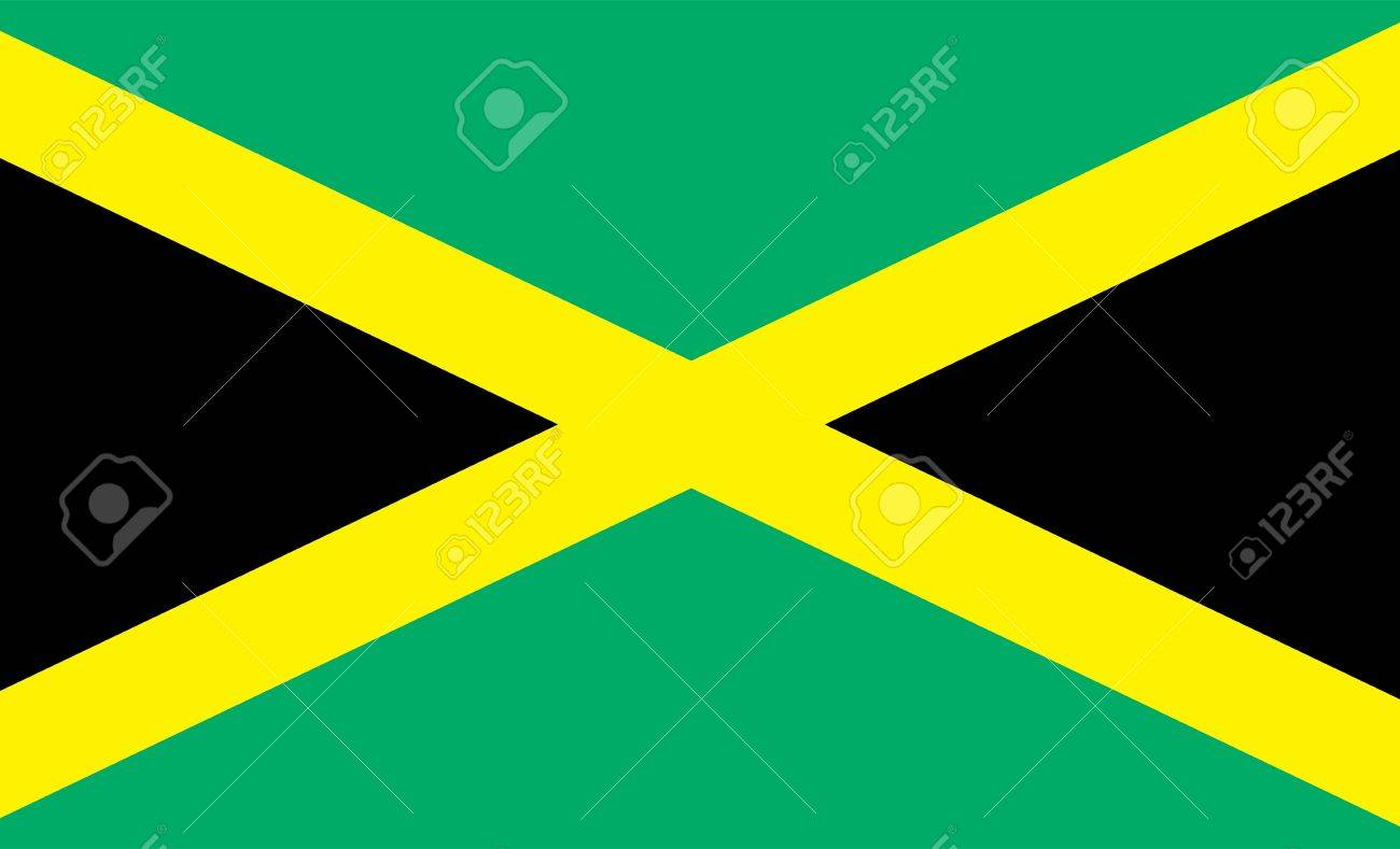 National Flag Of Jamaica Country World Jamaica Background Wallpaper