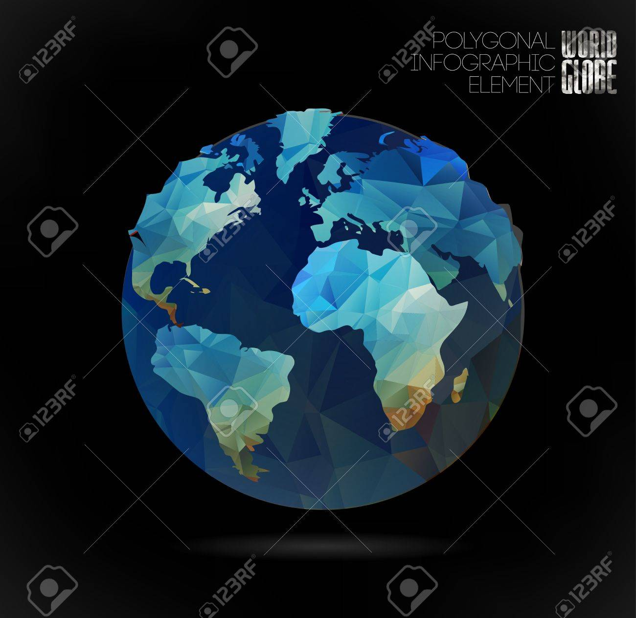 earth globe map 3d