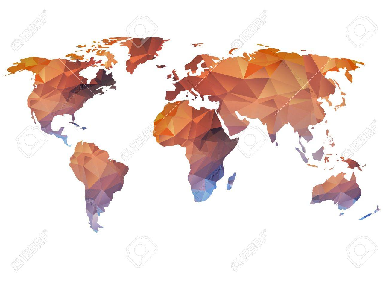 World map background in polygonal style can be used for website stock photo world map background in polygonal style can be used for website info graphics banner gumiabroncs Gallery