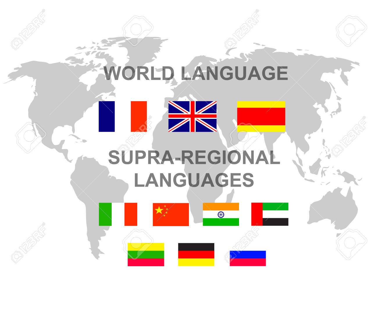 Vector detailed character language translator concept with world vector vector detailed character language translator concept with world map and flags of the world languages cool flat illustration gumiabroncs Image collections