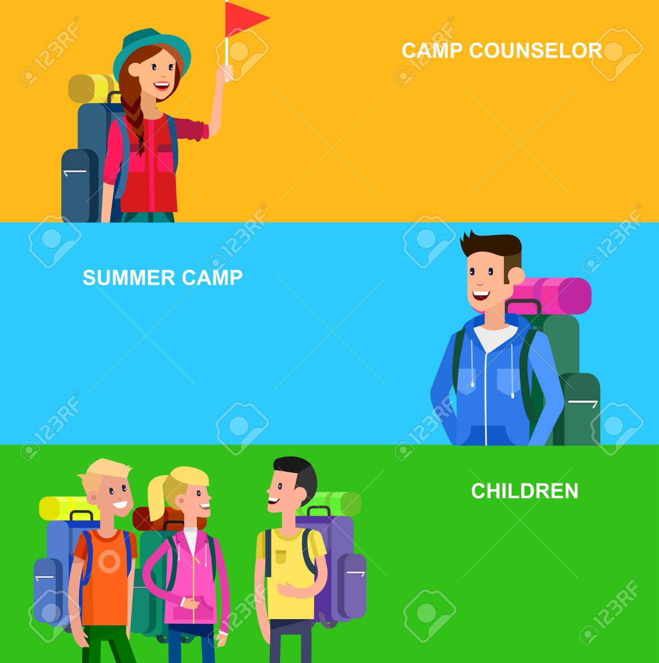 Excelente Se Reanuda El Consejero Del Campamento Imagen - Ejemplo De ...