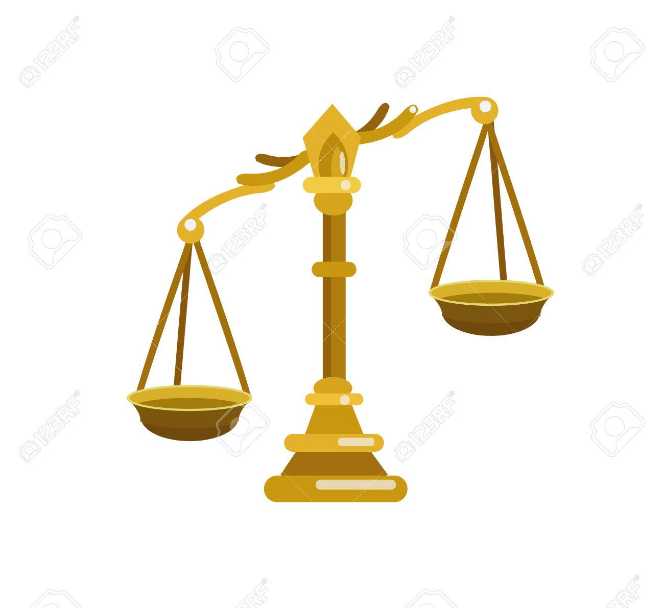 scales of justice symbolizing the measure of a cases support