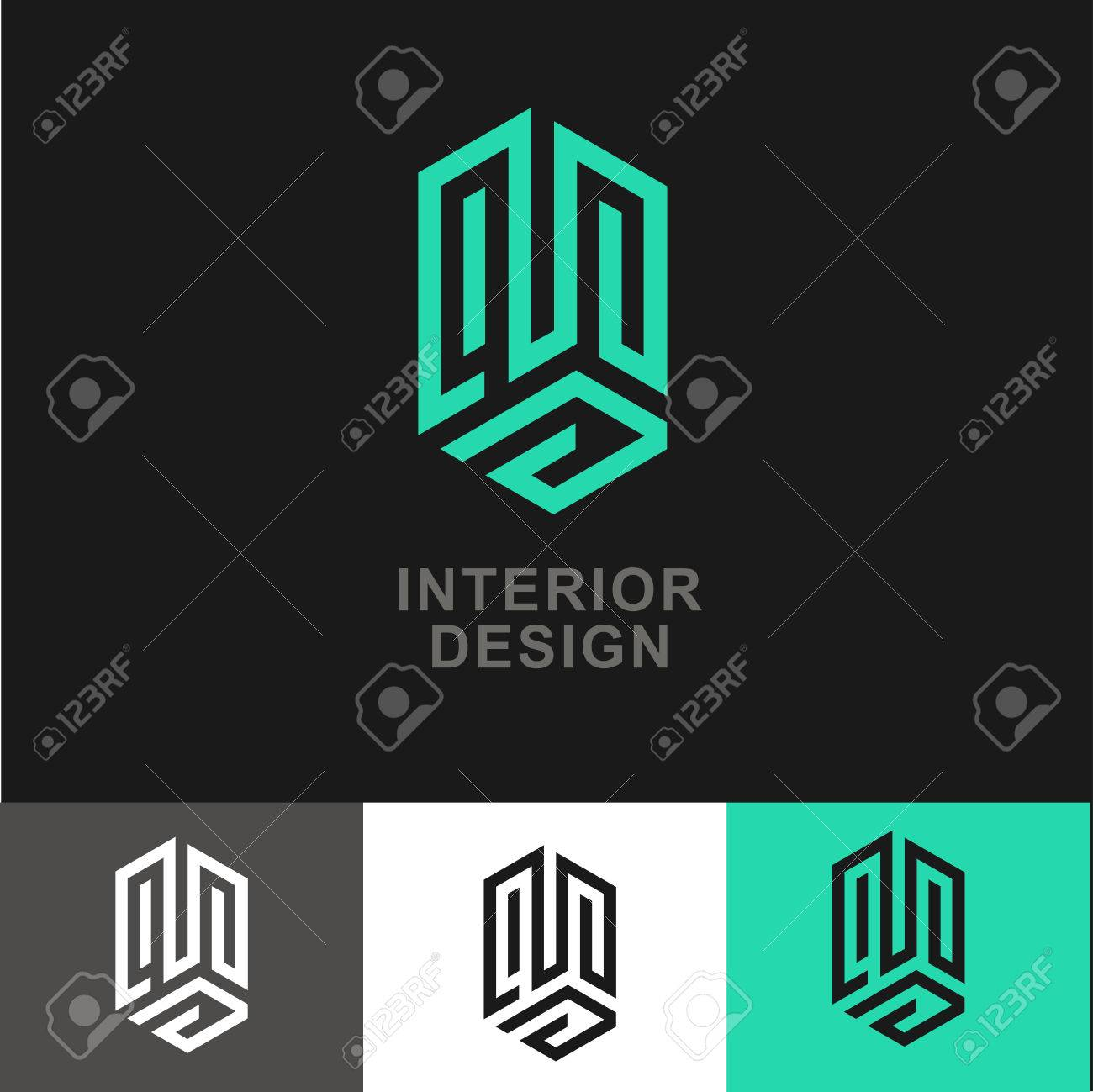 Business Icon - Vector Design-Vorlage. Abstrakt Emblem Für Den ...