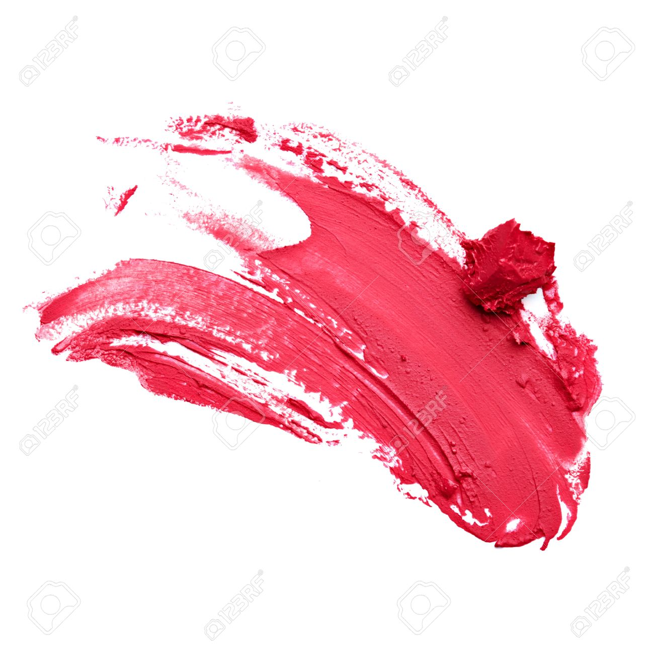 Smudged Red Lipstick Stock Photo, Picture And Royalty Free Image ...