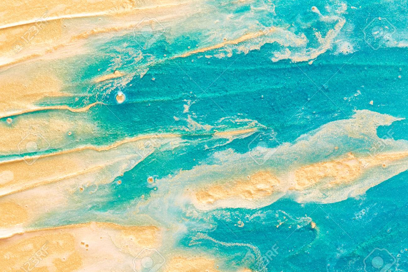 Paint texture. Abstract modern background - 60116796