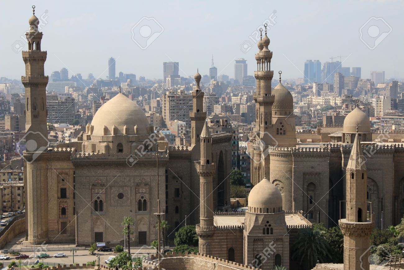Mosque Of Sultan Hassan. Cairo. Egypt. Stock Photo   34566224