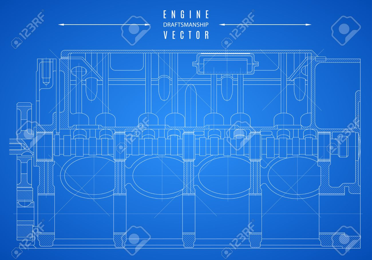 Drawing Motorcycle Parts Diagram Harley Motors Diagrams Engine Blueprint Wiring Schematics V Twin Engines