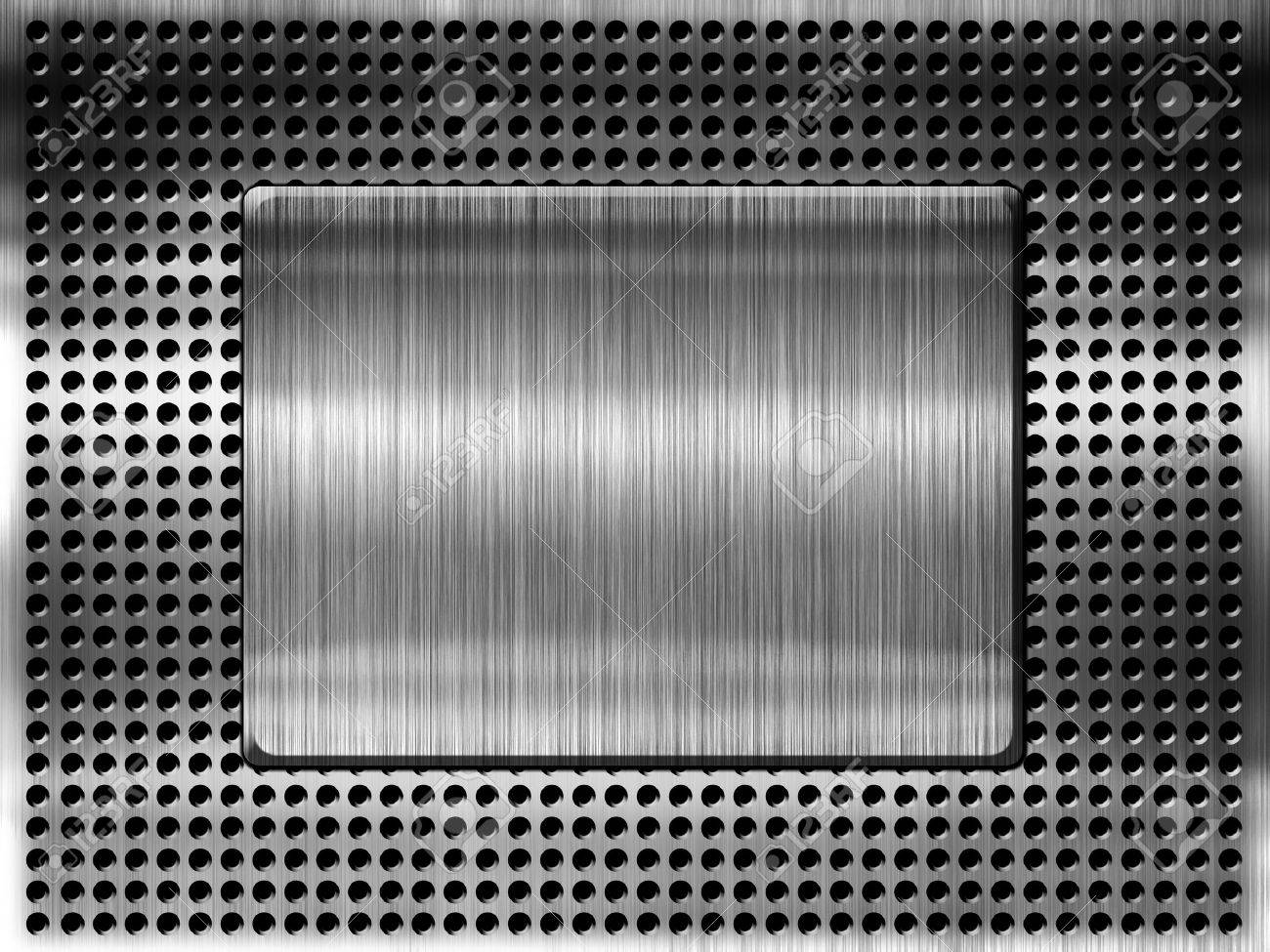 High quality metal grill template background Stock Photo - 14669564
