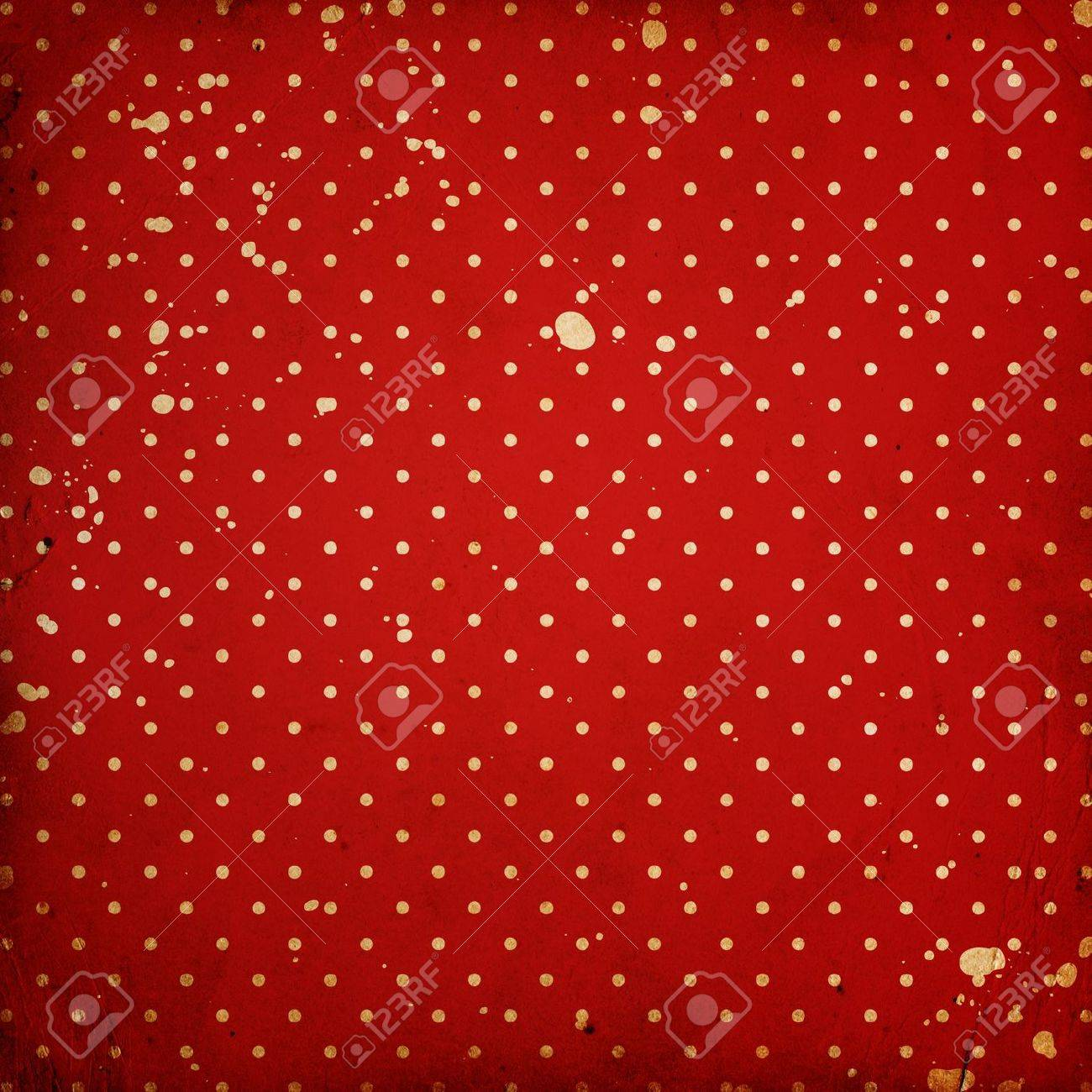 vintage dotted background with stains Stock Photo - 14669495
