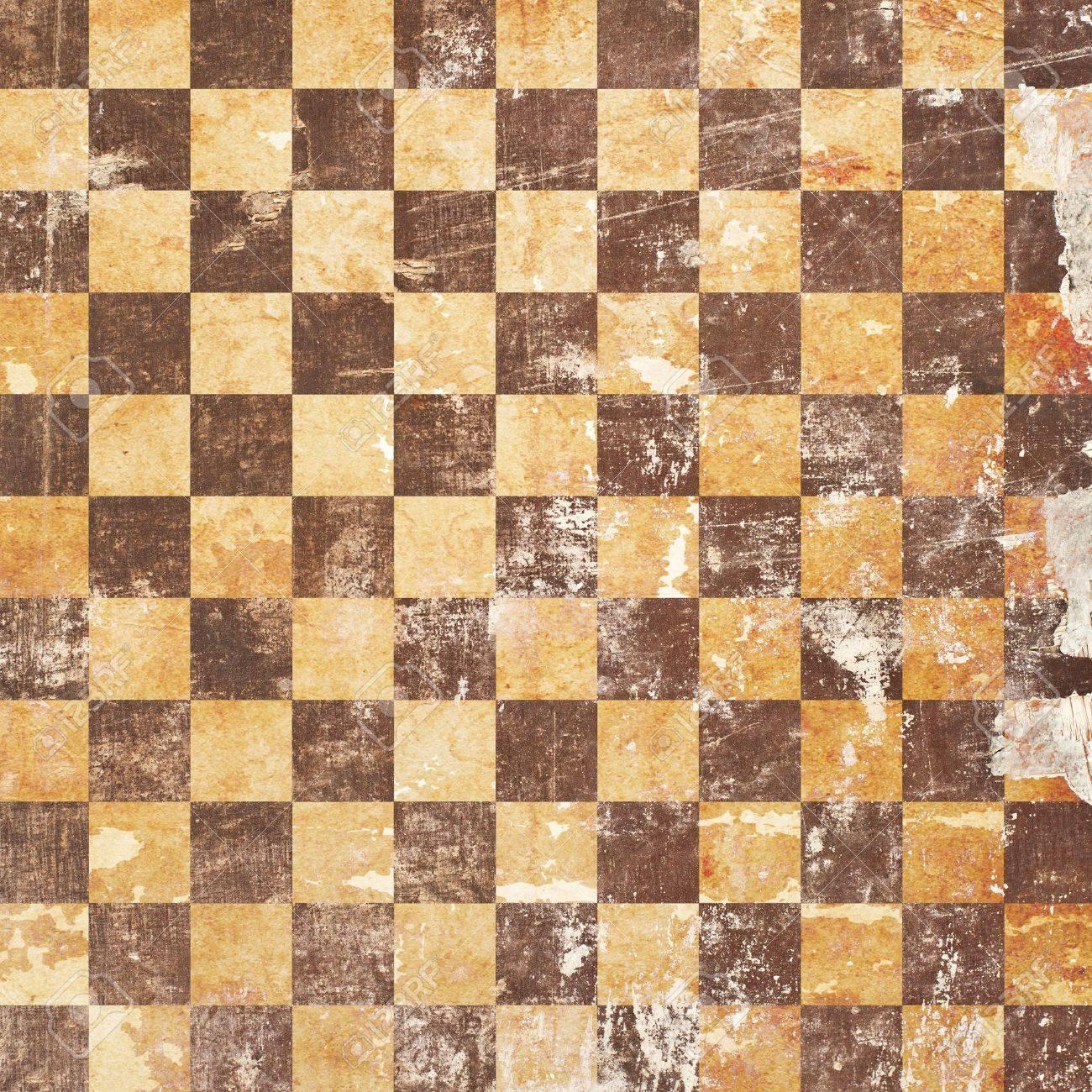 grunge chessboard backgound Stock Photo - 15666131