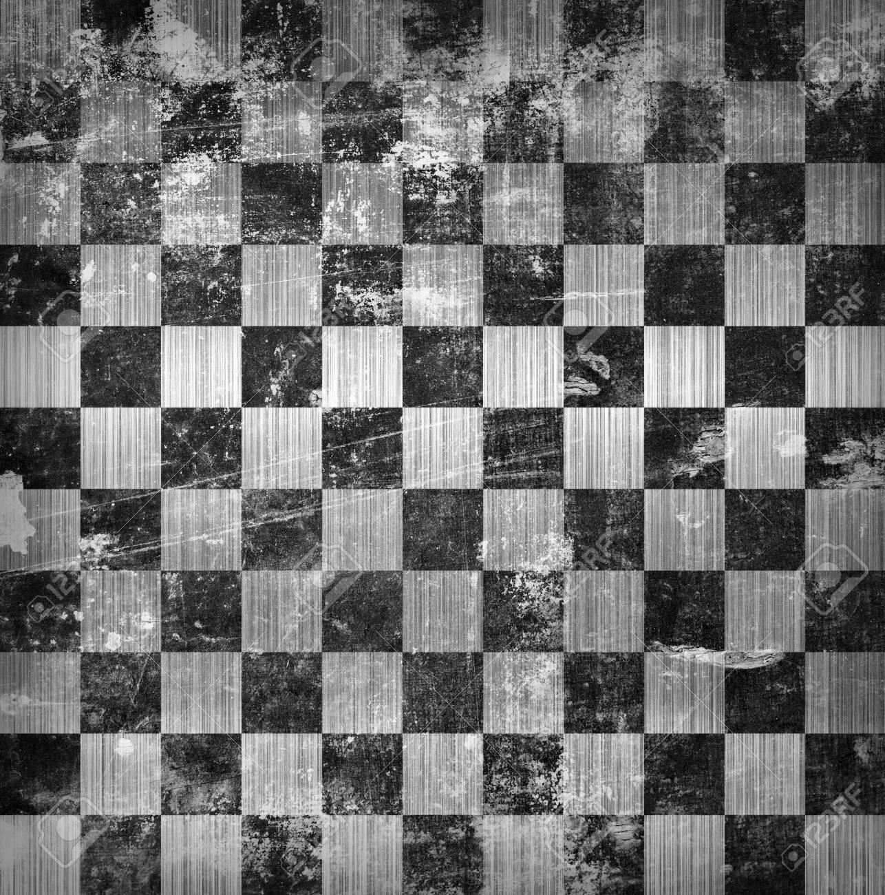 vivid grunge chessboard backgound Stock Photo - 18744351