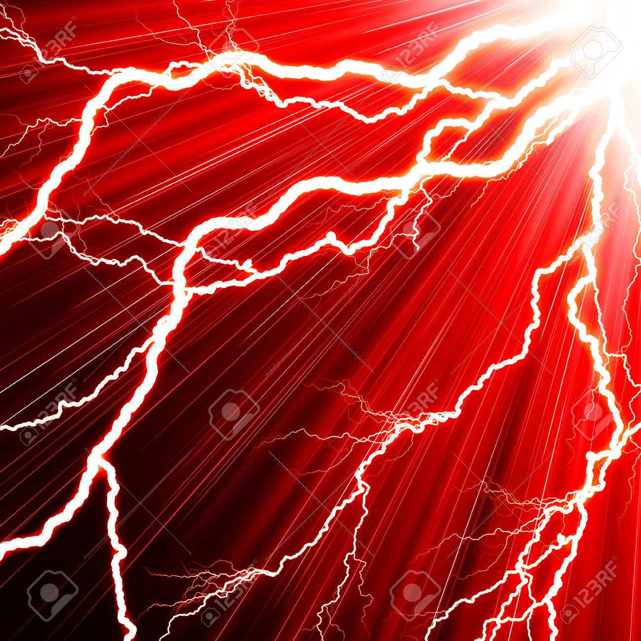 [Year of Evil] Flash Rises [LIBRE] 34170019-electric-flash-of-lightning-on-a-red-background