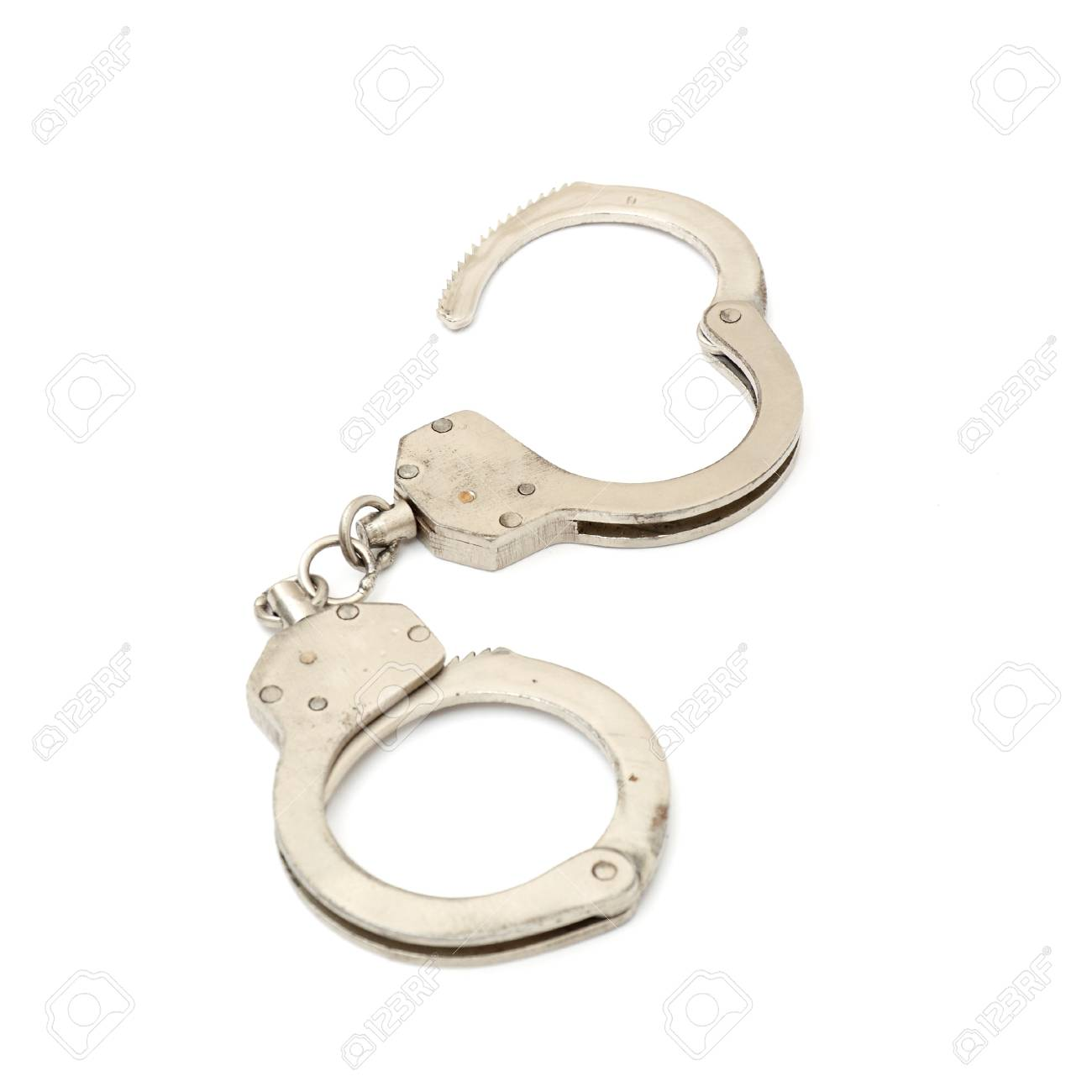 handcuffs are opened Stock Photo - 8814193