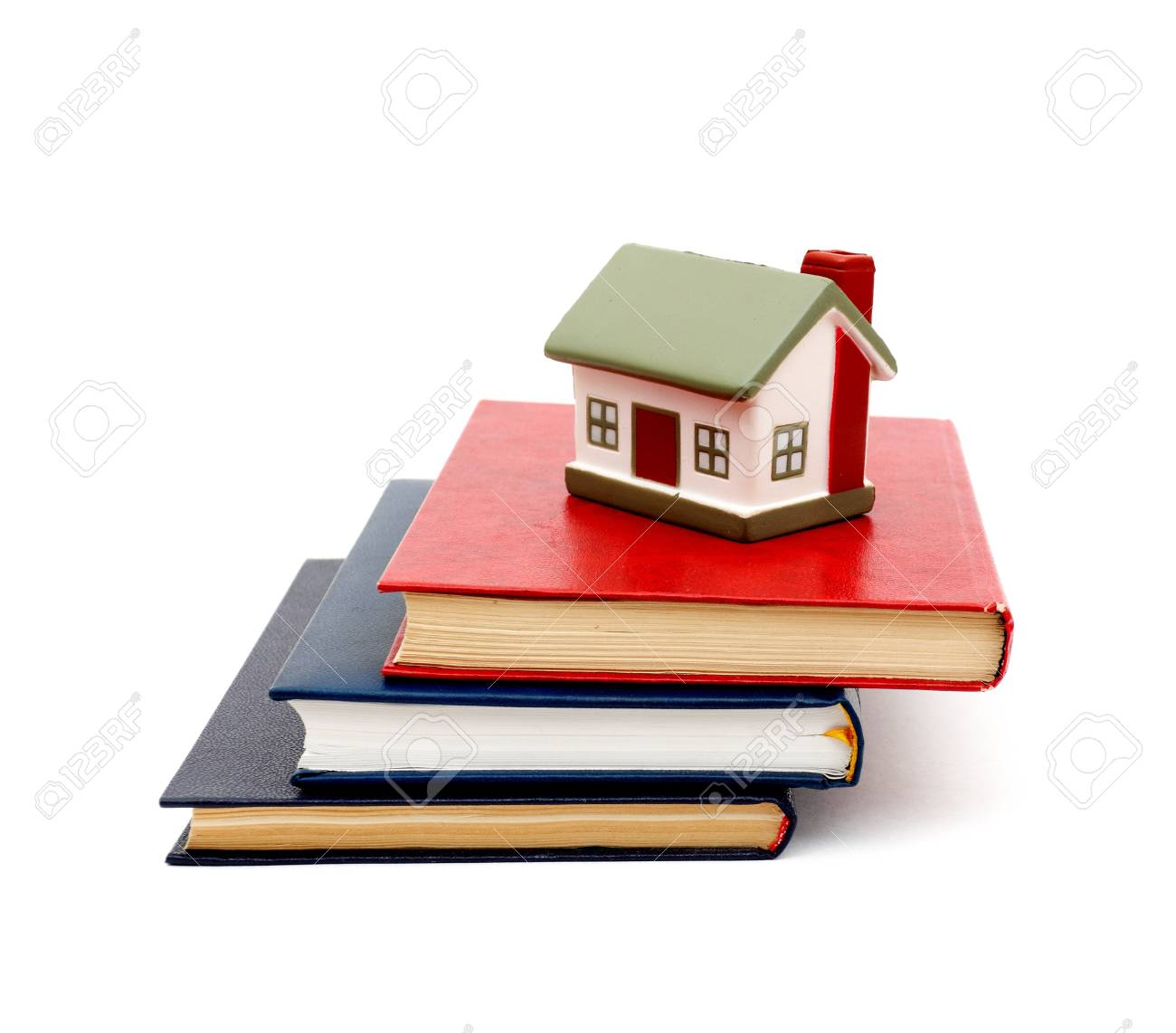 little house and books Stock Photo - 8818757