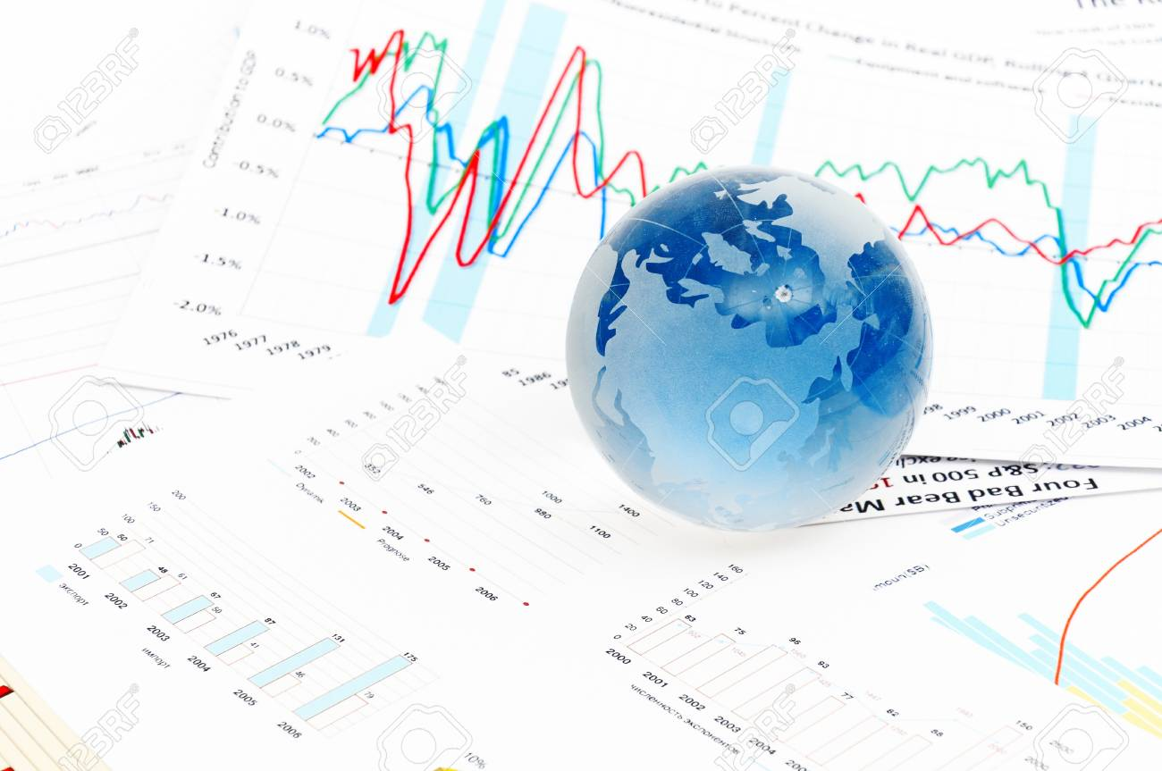 Crystal Global on Financial Chart can use as background