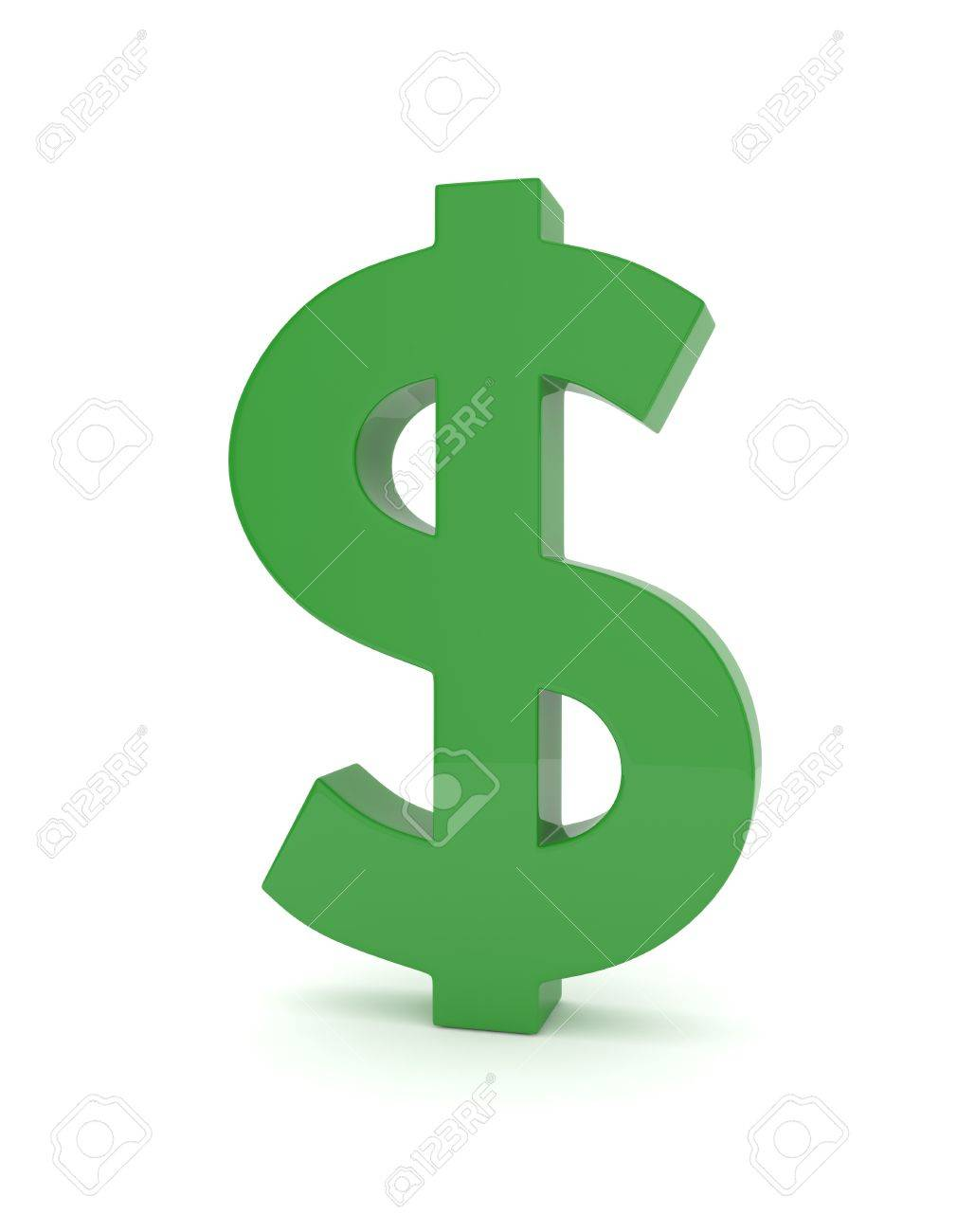 Isolated green dollar sign on white background american currency isolated green dollar sign on white background american currency money green economy symbol biocorpaavc