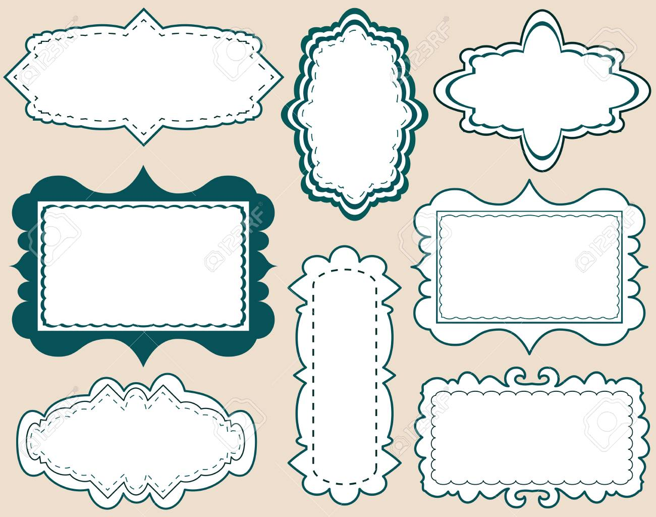 Set of Vector Labels Stock Vector - 11211500