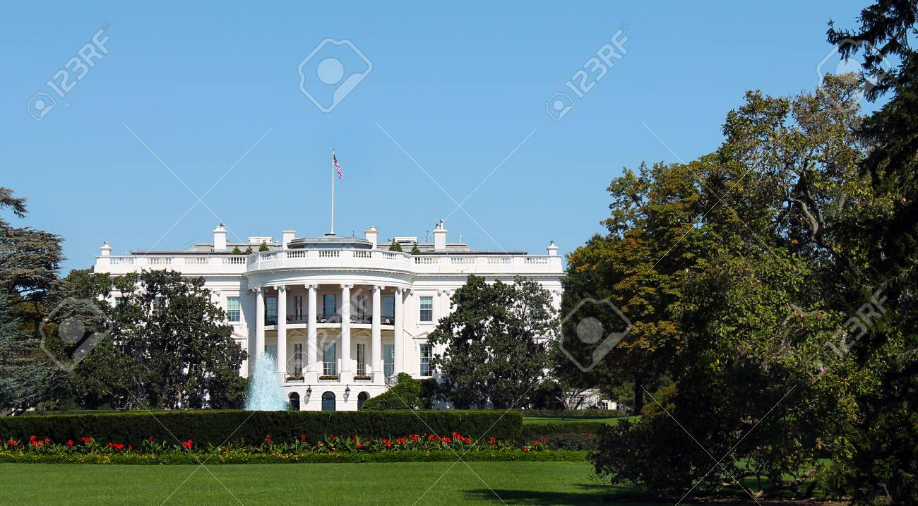 La maison blanche à washington dc etats unis damérique banque d