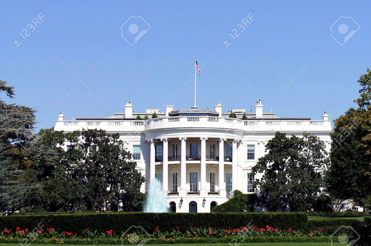 Maison blanche à washington dc etats unis damérique banque d