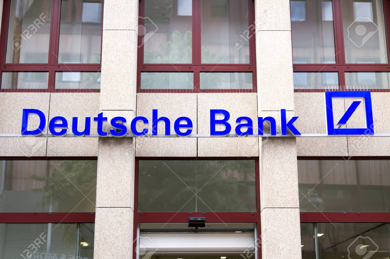 Deutsche Logotipo Del Banco En Nurnberg Germany Deutsch Bank Ag