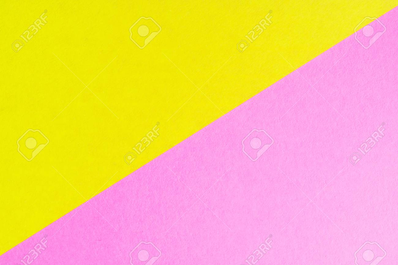 The Diagonal Of The Two Colored Sheets Of Paper Of Different.. Stock ...