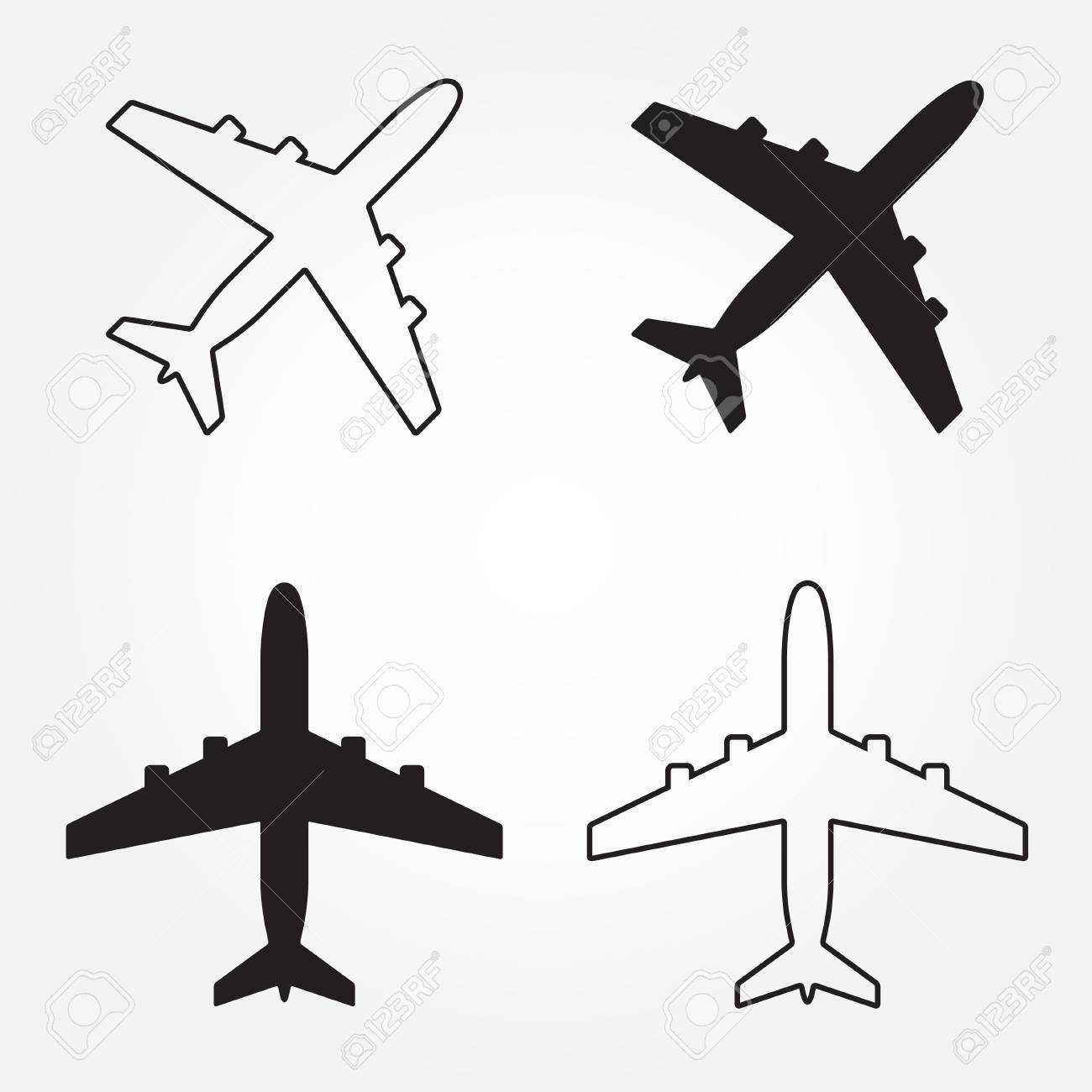 Nett Flugzeug Vorlage Ausschneiden Galerie - Druckbare Malvorlagen ...