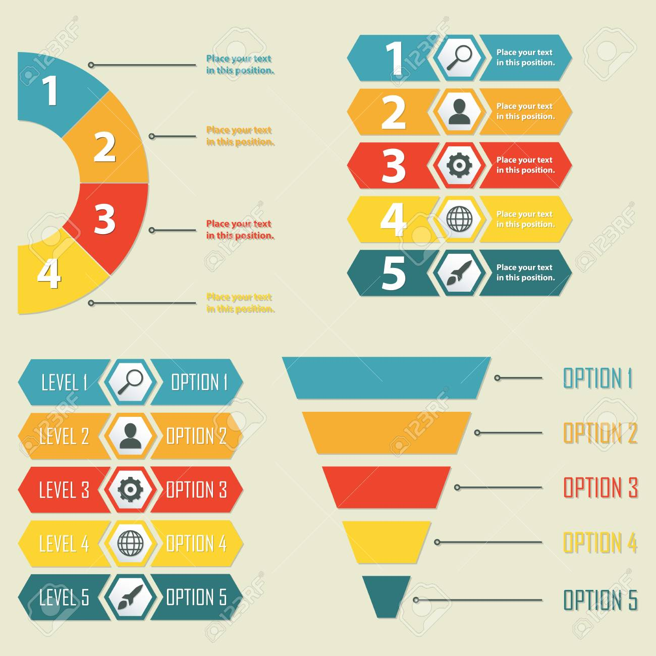 Infographic Templates Infographics Design Elements For Web