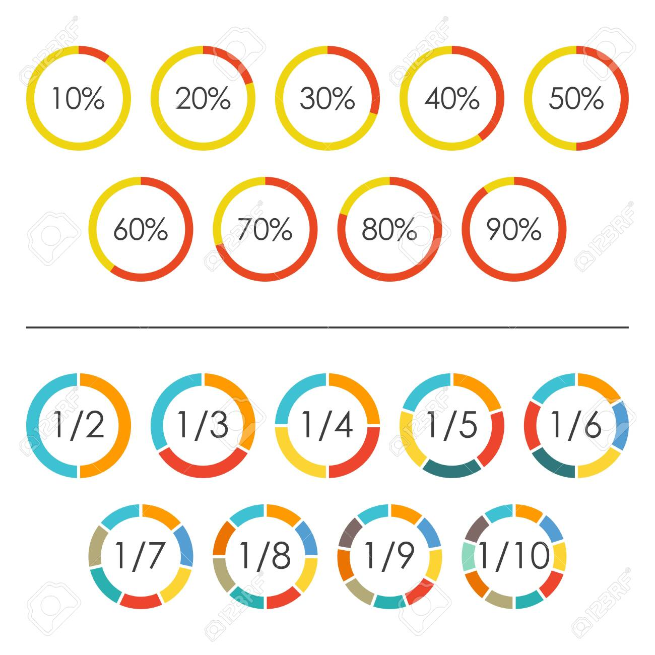 Collection Pie Chart With 3 Sections Pictures