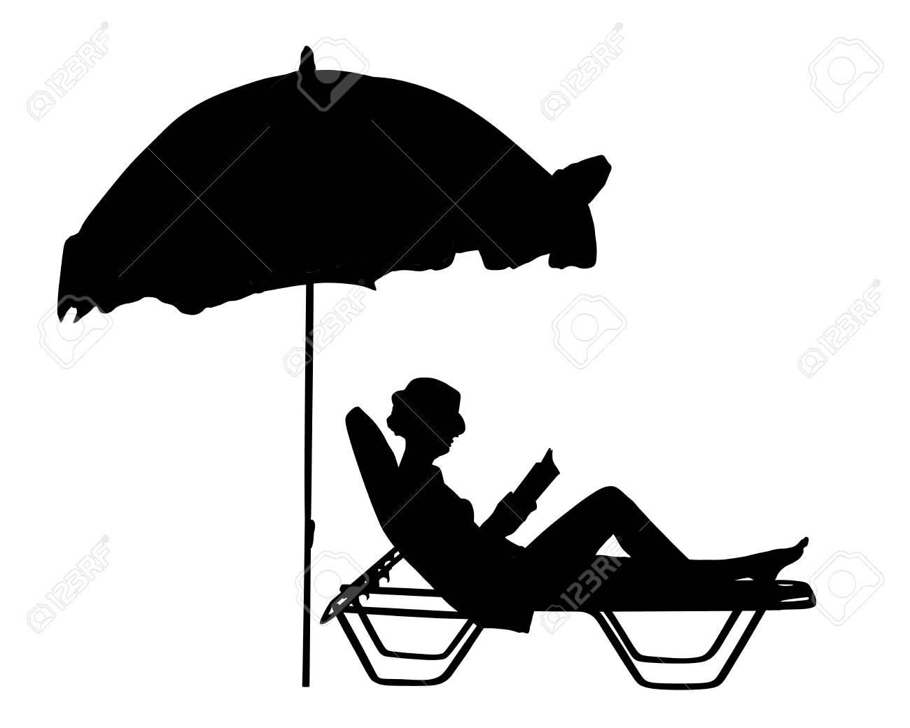Femme Jeune Allongée Lit Canapé Chaise En Sur La Belle Vacances Longue 7fb6gy
