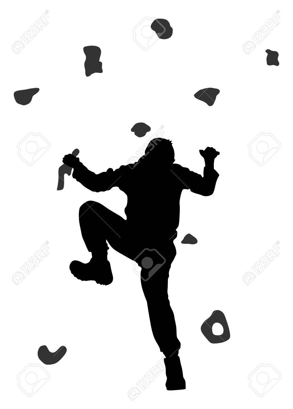 Image result for bouldering silhouette