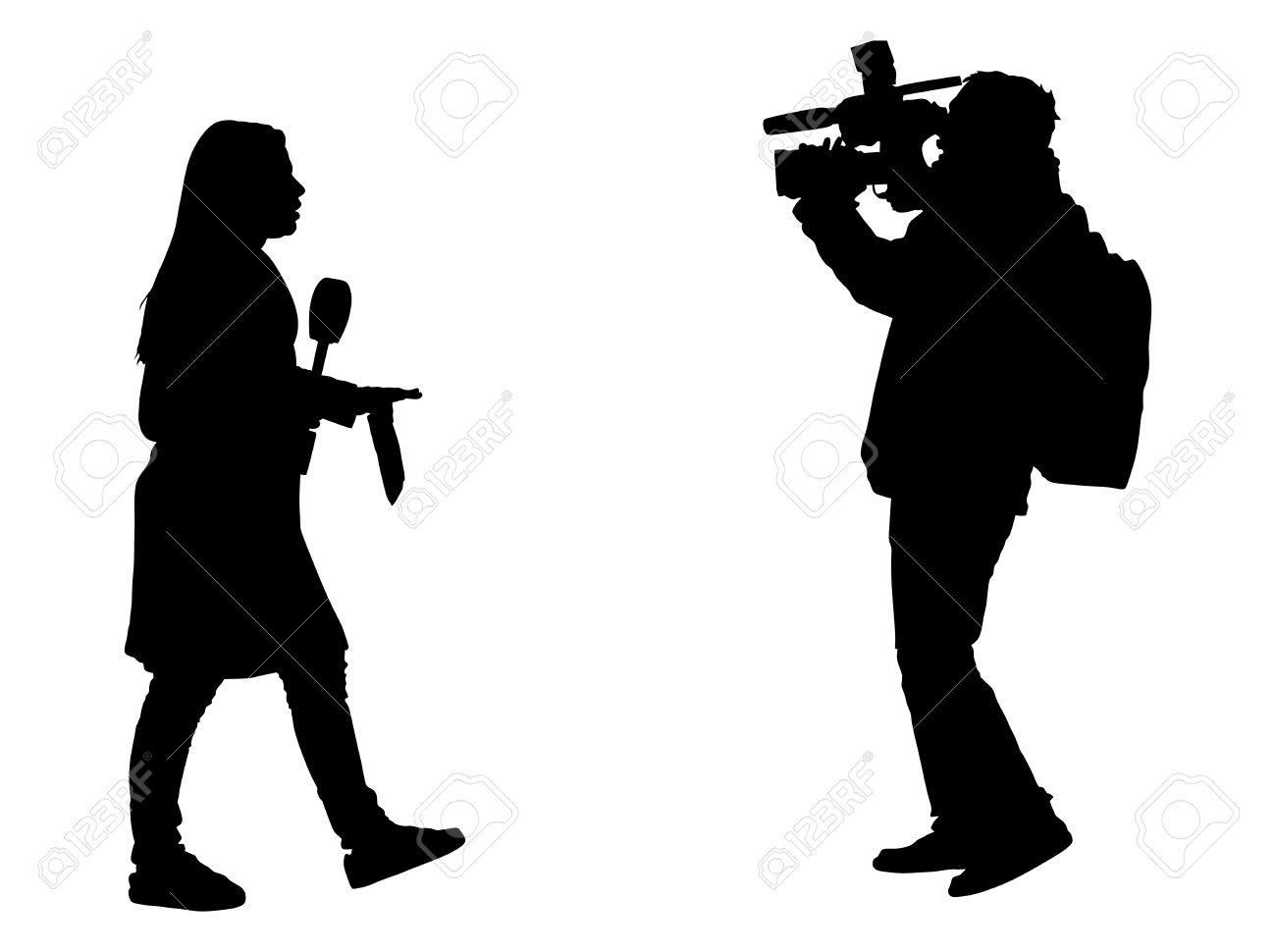 Resultado de imagem para jornalista, clipart