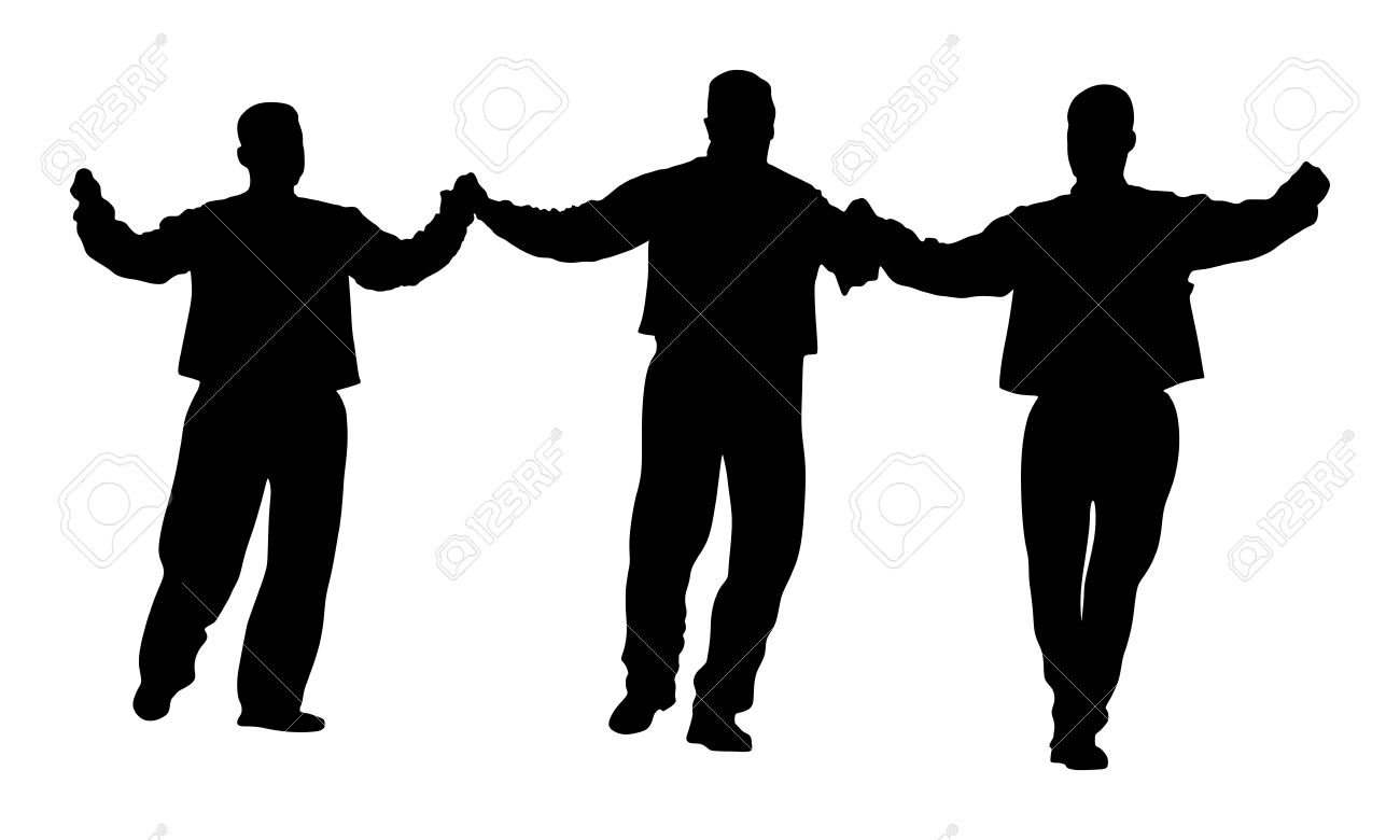 a greek evzone dancing vector silhouette isolated on white rh 123rf com dancing vector silhouettes dancing vector png