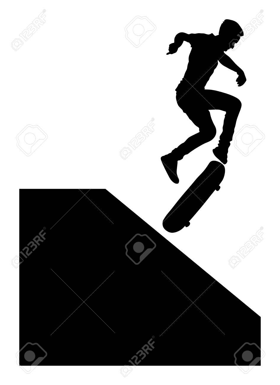clipart #cartoon A Woman Doing The Angle Forward Bend Yoga Pose and An  Urban Skate Park Background - Vendor: vectorto… | Skate park, Skate,  Cropped black leggings