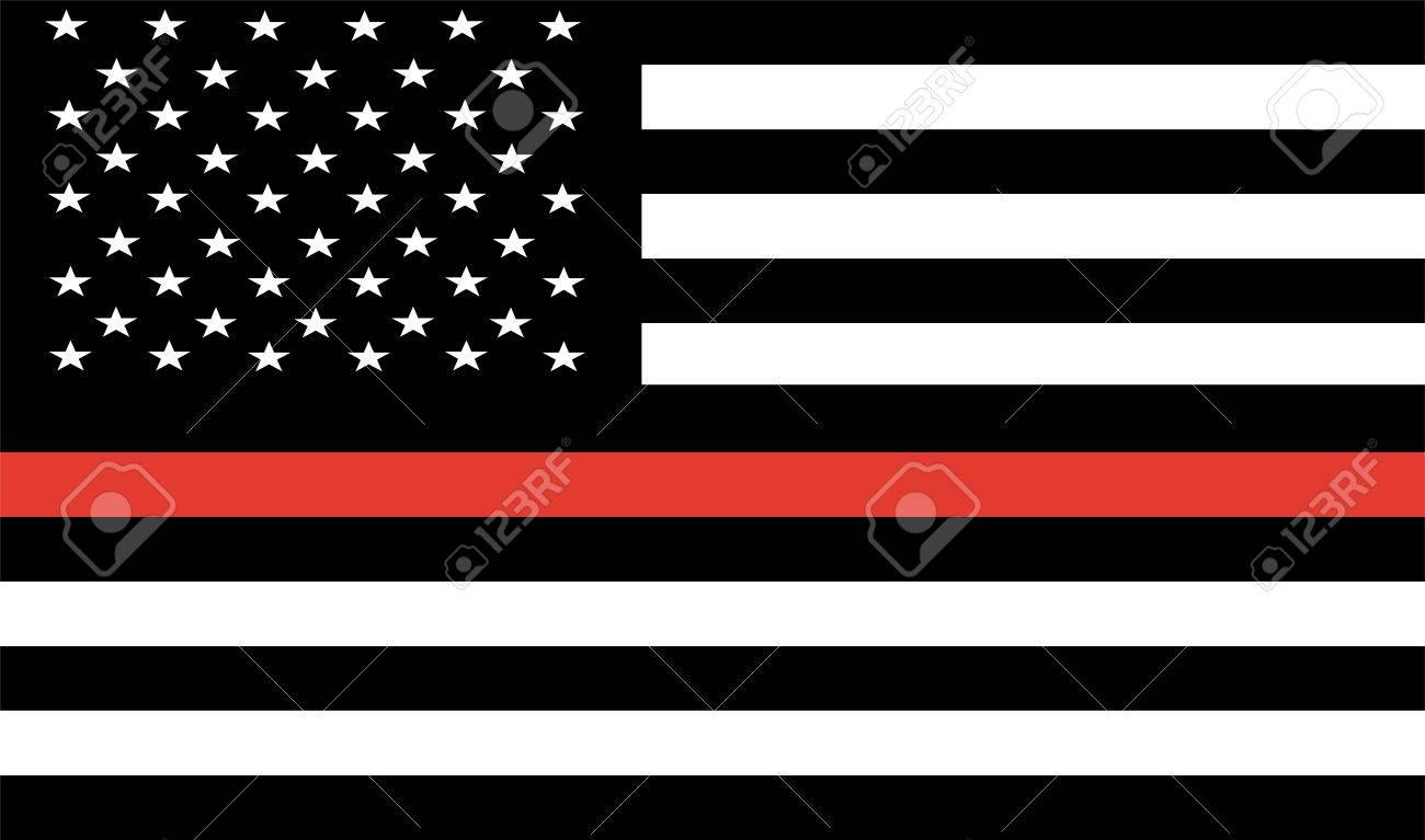 thin red line firefighter flag vector royalty free cliparts rh 123rf com Texas Flag Vector Texas Flag Vector