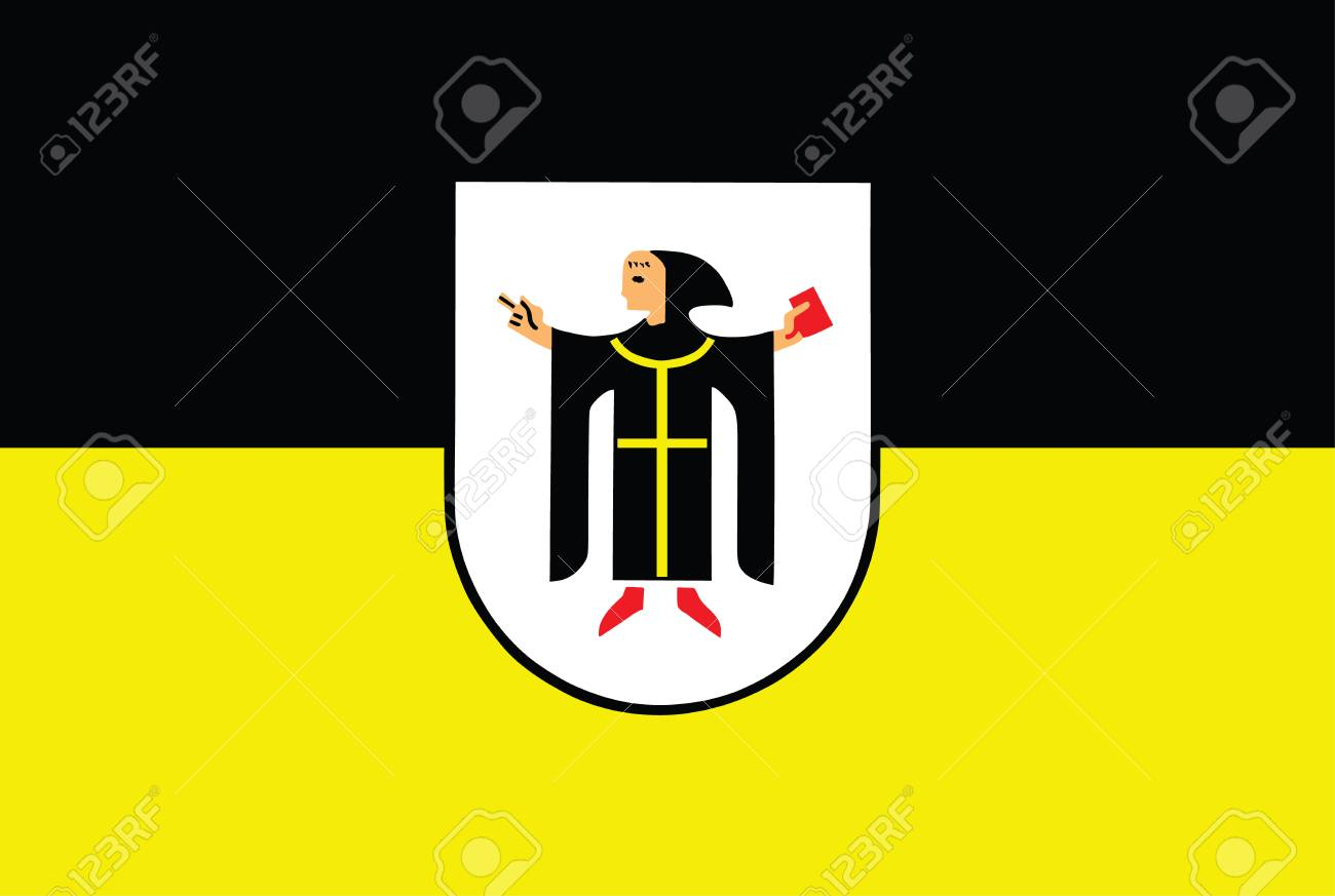 Vector flag of Munich with Coat of Arms, Germany - 71091241