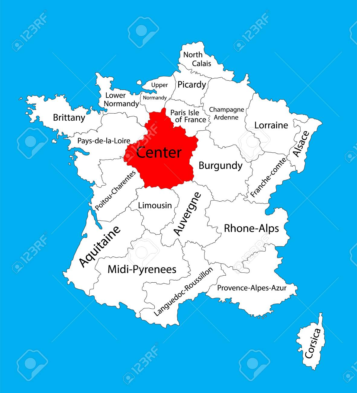 Vector map of state Centre, location on France. France vector.. on vercors france map, nord-pas-de-calais france map, vendee france map, ireland france map, auvergne france map, amsterdam france map, catalonia france map, st remy provence france map, salzburg france map, madrid france map, chartres france map, normandy france map, palais des papes france map, rome france map, de loire france map, carriveau france map, scotland france map, tours france map, the dordogne france map, austria france map,