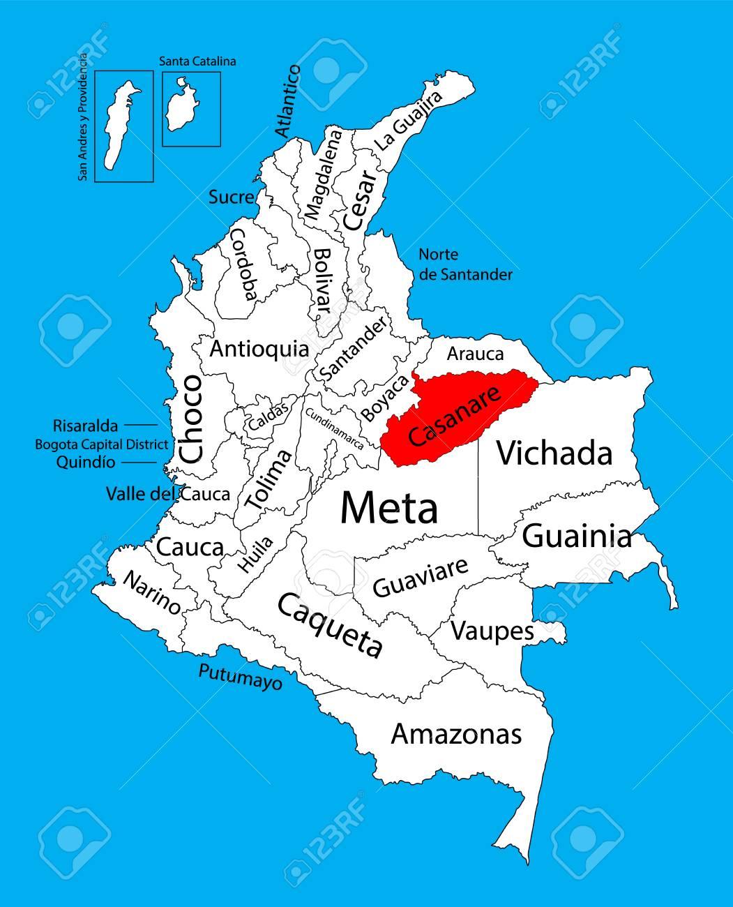 Colombia - Página 40 72499707-mapa-vectorial-de-la-regi%C3%B3n-de-casanare-colombia-mapa-vectorial-editable-divisiones-administrativas-de-