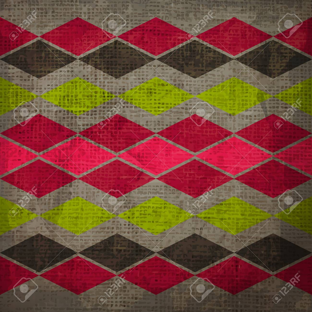 new abstract background with vintage style ornament can use like retro wallpaper Stock Vector - 17912502