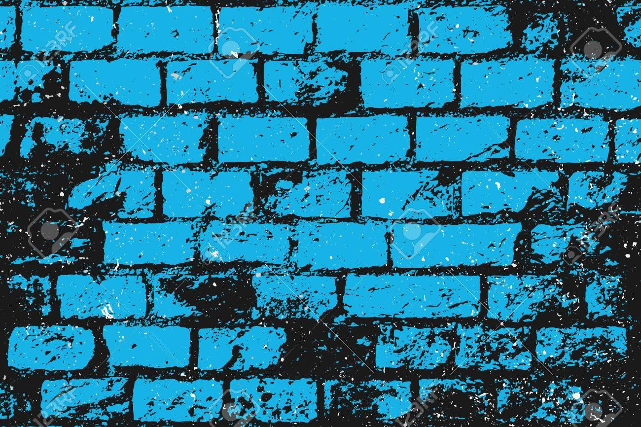 Brick Wall Art abstract, brick wall surface. vector, street art paper texture