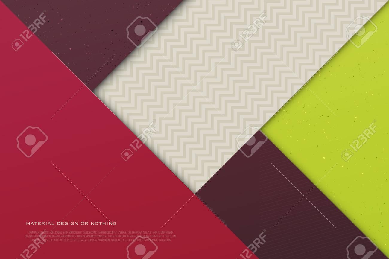 Fondo Abstracto, Colorido Con Marcos De Forma De Triángulo ...