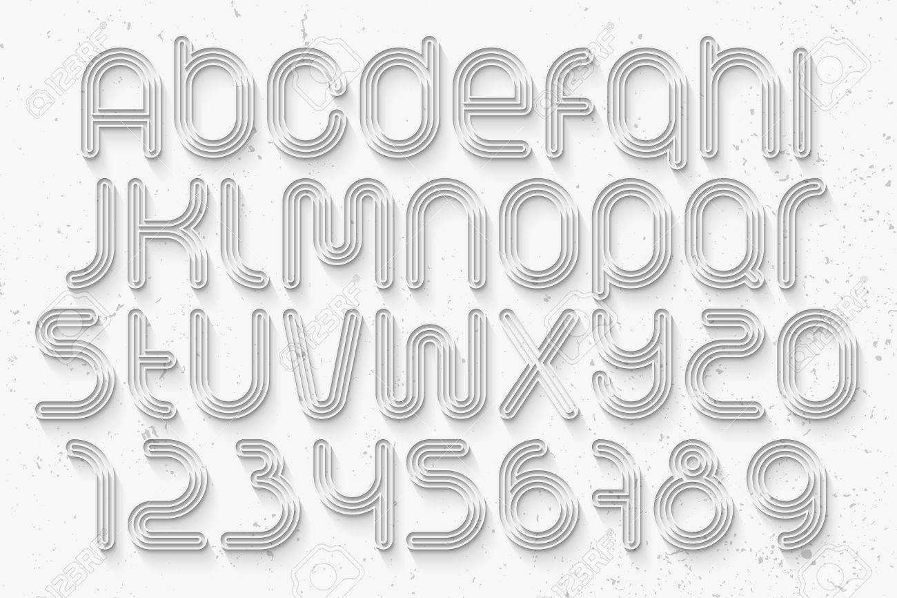 Set of sport style alphabet letters and numbers over white set of sport style alphabet letters and numbers over white background vector 3d font expocarfo Choice Image